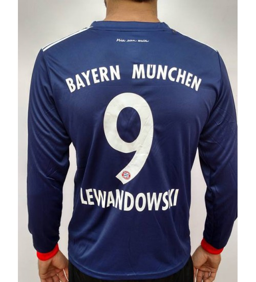 FC BAYERN MUNICH AWAY 2017-18 LEWANDOWSKI