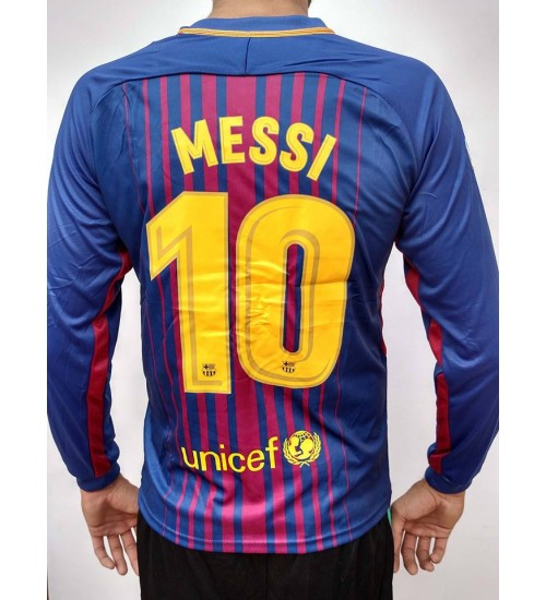 FC BARCELONA HOME 2017-18 MESSI