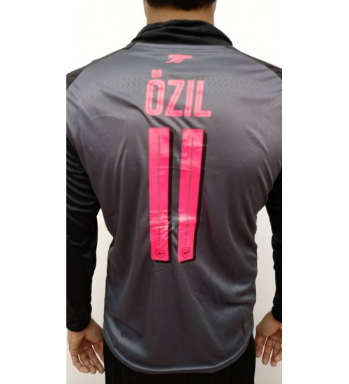 ARSENAL FC THIRD 2017-18 OZIL